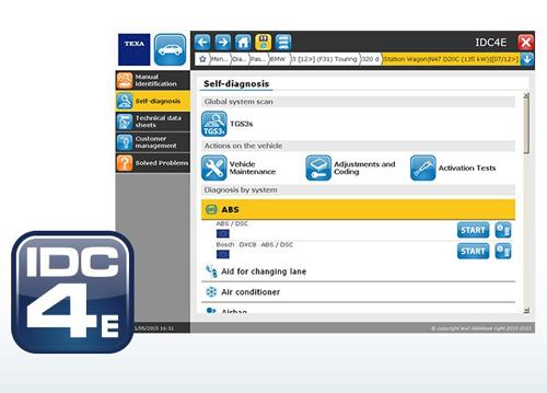 TEXA IDC4e, Новое программное обеспечение IDC4 Evolution, АД-Инструмент